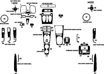 Rdash Carbon Fiber Dash Kit for Chevrolet Camaro 2010-2011