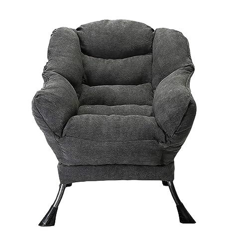 Amazon.com: Axdwfd silla de salón, sofá Lazy Couch Dormitory ...