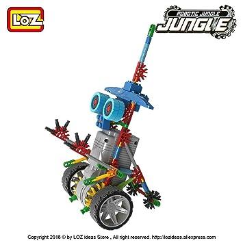 LOZ Robot con Ruedas Y Motor 120P.