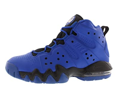 Nike AIR MAX BARKLEY GS Game Royal/White-Black Boys Basketball Shoes 6