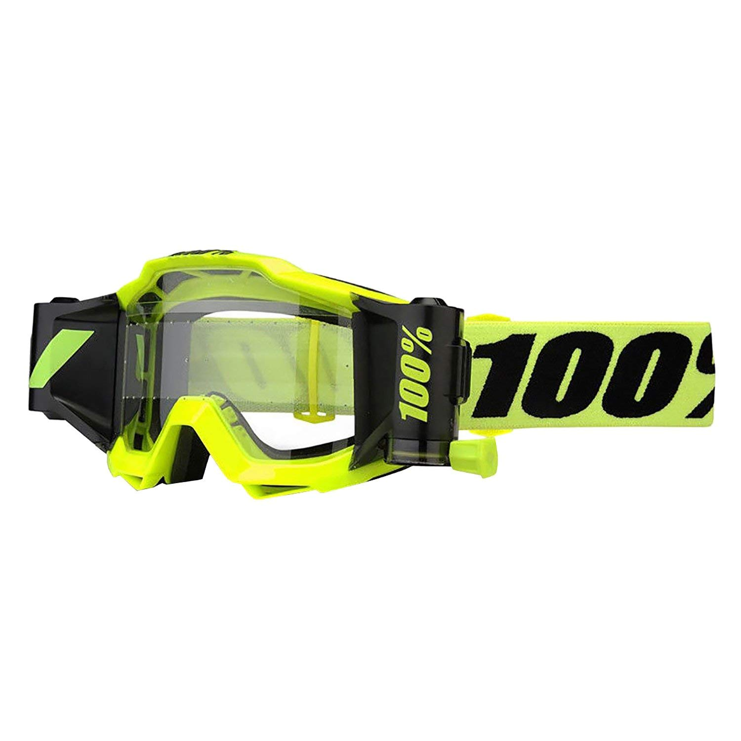 100% unisex-adult Speedlab (50220-004-02) ACCURI FORECAST Goggle Fluo Yellow-Clear Lens, One Size by 100%