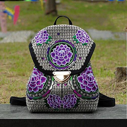 La flor del hombro Bolso bordado / Mujer Paquete simple ocio ( Color : 13# ) 9#