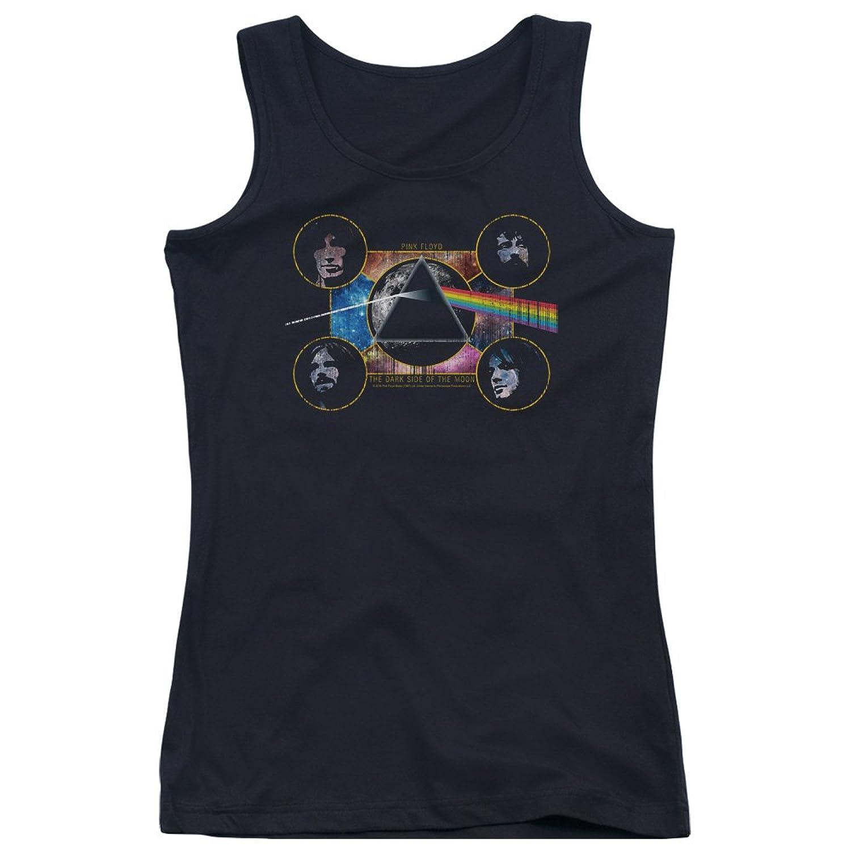 Pink Floyd Juniors Dark Side Heads Tank Top