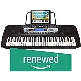 Amazon com: RockJam 61-Key Electronic Keyboard Piano SuperKit with