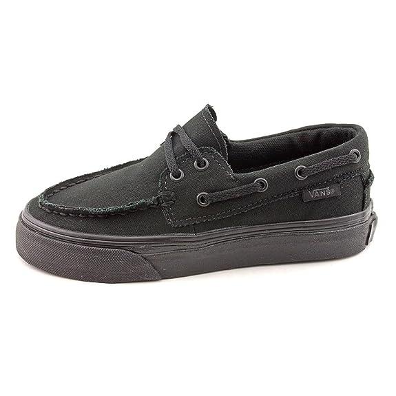 Amazon.com  Vans Zapato Del Barco Canvas Shoe black  Shoes 5621856f1e