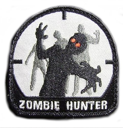 Military Zombie Hunter Costume (Blue Heron Zombie Hunter Morale Milspec Military 2.75