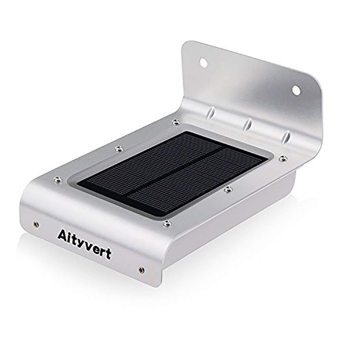Aityvert Solar Motion Sensor Light 16 LEDS Super Bright Outdoor Waterproof Wall Light for Garden,Patio,Path Security Lmap Light(1 Pack)