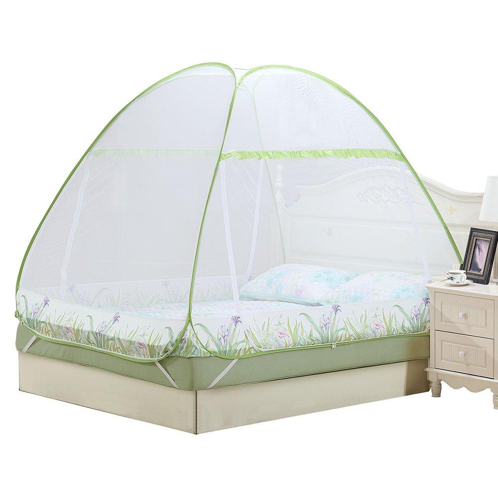 ZXQZ Startseite Moskitonetze Doppelbett Moskitonetz Anti-Moskito und winddicht und staubdicht im Sommer Insektenschutz ( größe : 1.5M bed )