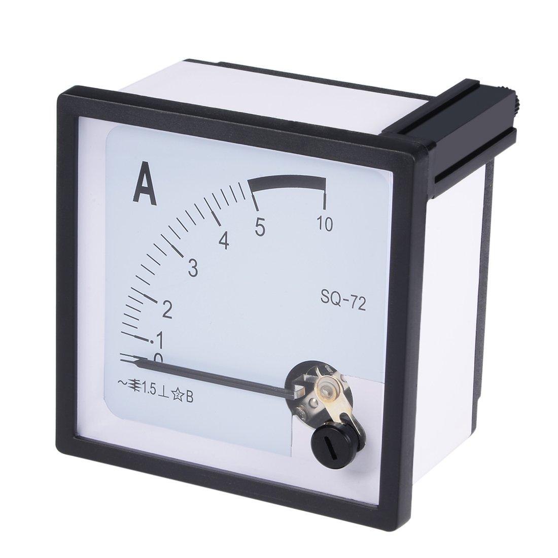 AC0-5A Analog Panneau Amp/èrem/ètre Gauge Ampere Courant M/ètre 44L1 1.5 erreur
