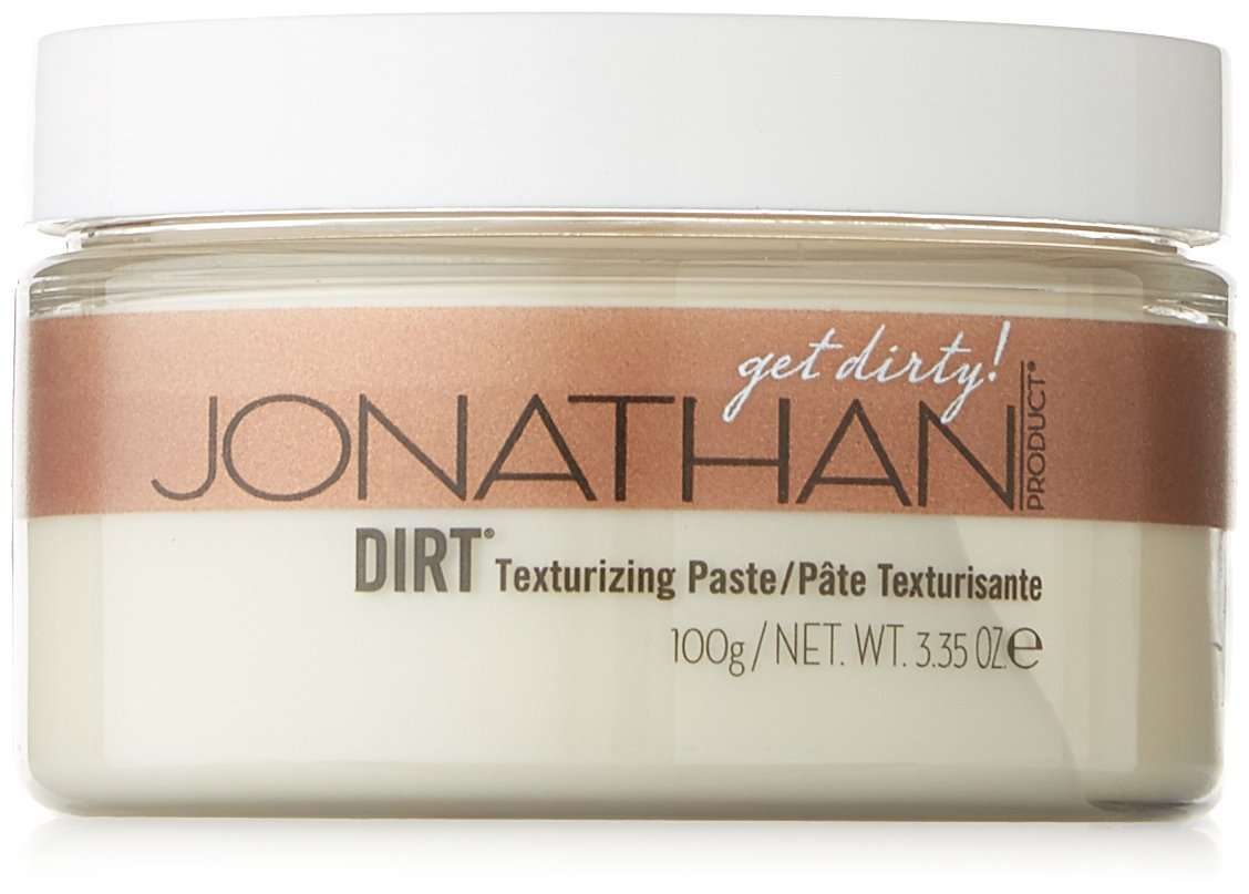 JONATHAN DIRT Texturizing Pomade Paste,For Straight, Thick and Curly Hair 3.35 Ounce