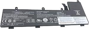 Dentsing 01AV442 (11.4V 42Wh/3685mAh 3-Cells) Laptop Battery Compatible with Lenovo ThinkPad YOGA 11E 4th Gen Chromebook Series Notebook SB10K97595 SB10K97596 01AV443