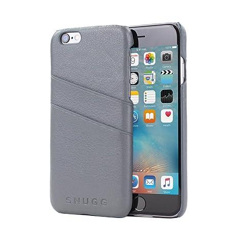 Carcasa iPhone 6 y 6S, Snugg - Funda Ultra Fina Gris Antideslizante y Protectora Con Garantía de Por Vida para iPhone 6 y 6S