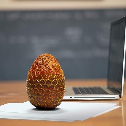 Amazon.com: Toynk Dragon Egg Paperweight Replica de resina ...