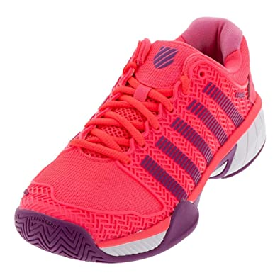 Amazon Com K Swiss Hypercourt Express Junior Tennis Shoes Neon