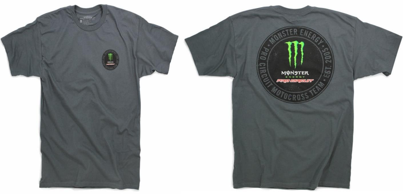 Pro Circuit 6411560-040 Patch T-Shirt (Gray, X-Large)