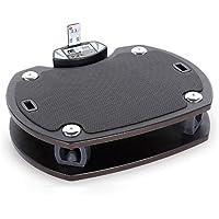 Trainer4you Sport Fitness-Heimtrainer Vibrationsplatte VIB 21, grau
