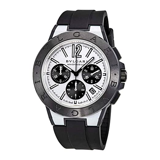 Bvlgari diagono magnesio automático cronógrafo Mens Reloj 102305: Amazon.es: Relojes