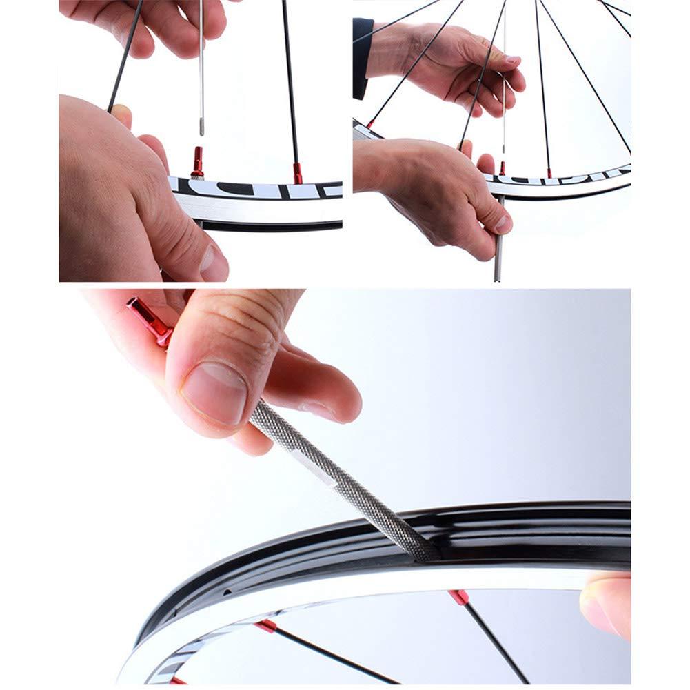 Danme Bike Bicycle Spokes Nipple Wrench Tightener Tool Accessories for Deep Rims Anti-Slip Durable