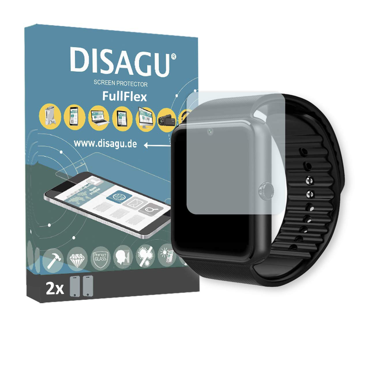Amazon.com: DISAGU 2 x FullFlex Screen Protector for Yamay ...