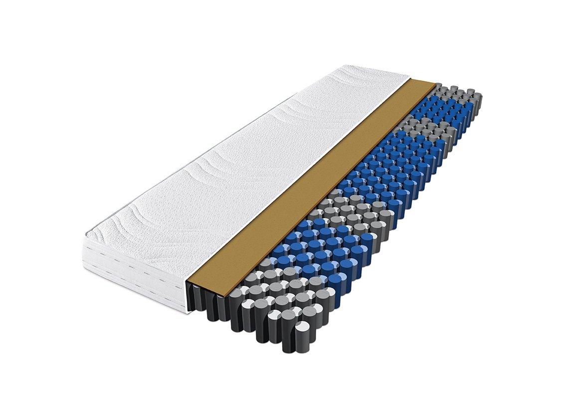 Dunlopillo AERIAL TFK Elegance H3 Tonnentaschenfederkern-Matratze 140x200