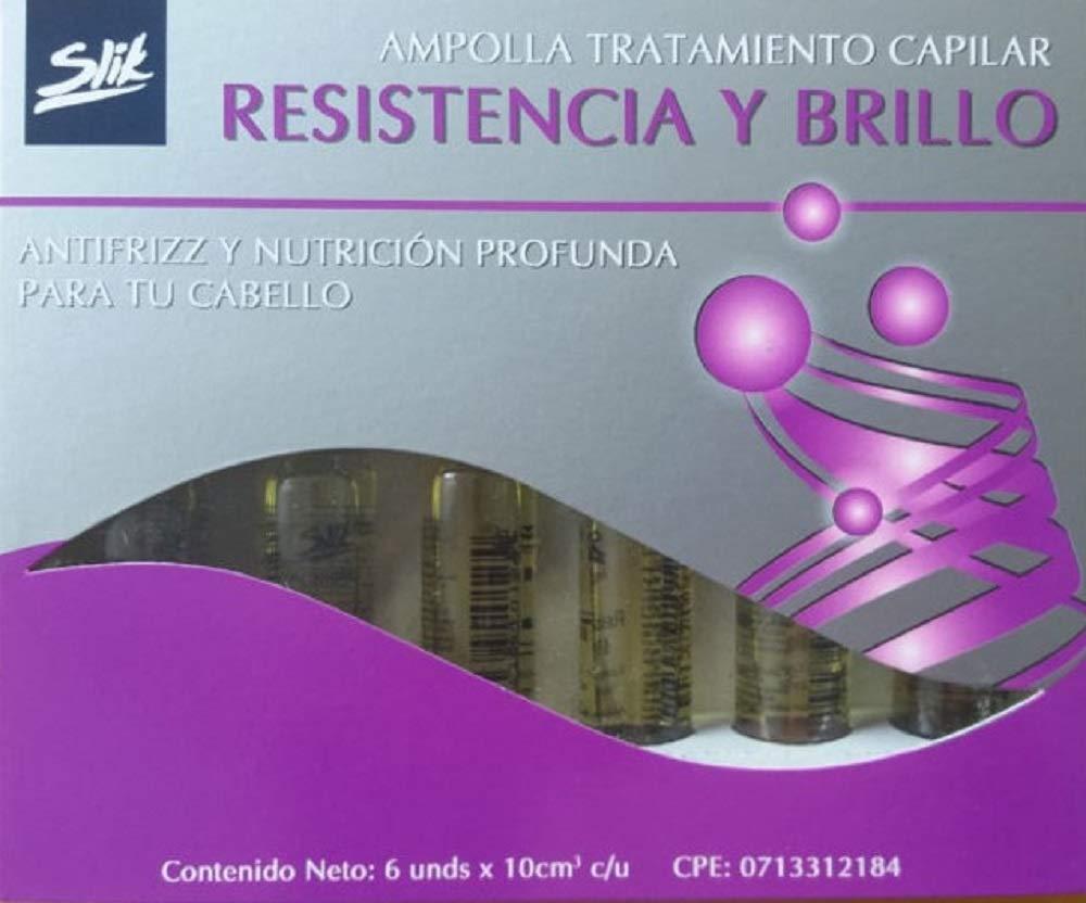 Amazon.com : Ampollas Capilares Para El Cuidado y Crecimiento del Cabello 6 X 10 ml (SEMI DE LINO) : Beauty