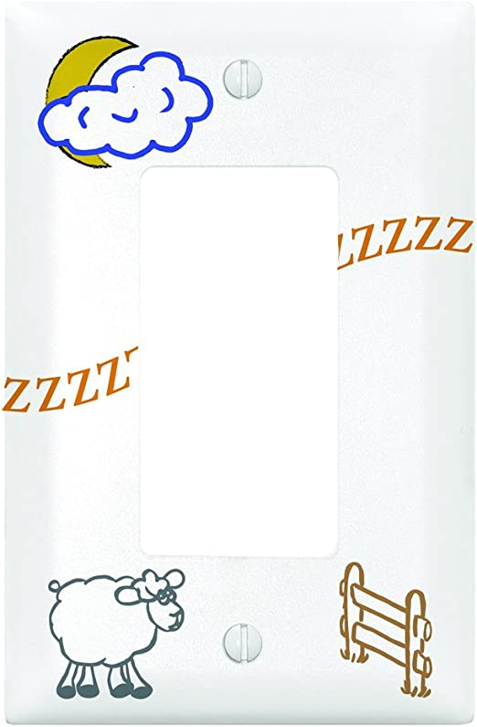 N//A Let Your Light Shine Three Switch Cover Dexsa Light Switch Inspirational Plate Cover
