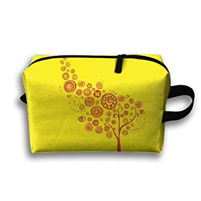 Storage Bag Travel Pouch Creative Tree Purse Organizer Power Bank Data Wire Cosmetic Stationery Holder