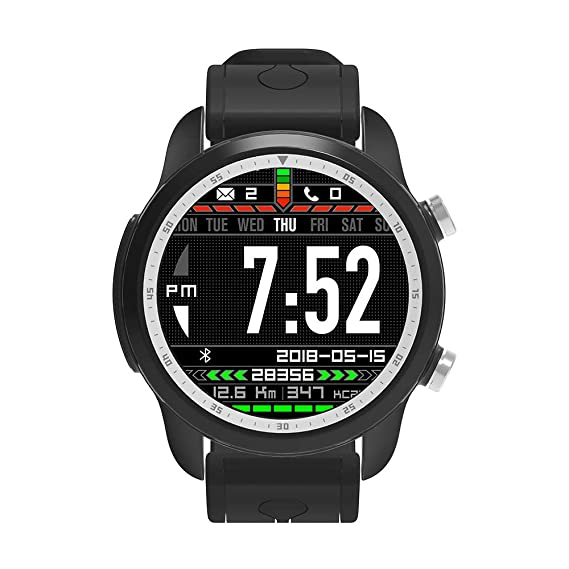 Amazon.com: SUHHO 1.3 inch Full Touch Screen smartwatch ...