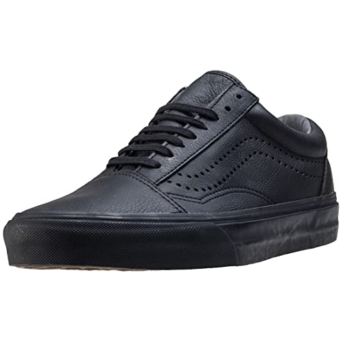 Vans Authentic Decon Unisex Black Black Pelle Scarpe da Ginnastica 5 UK