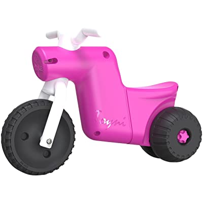 YBIKE Toyni Tricycle Balance Bike, Pink : Baby