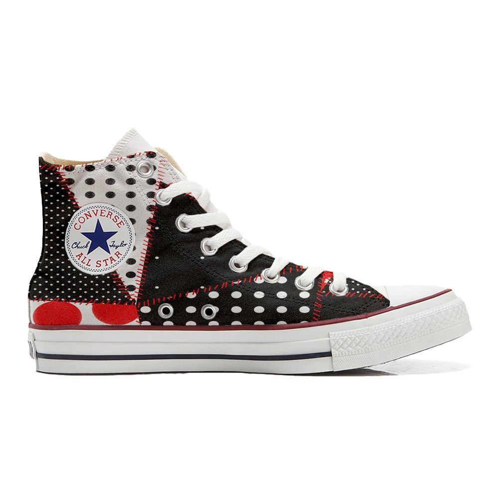 Converse All Star Hi Customized personalisierte Schuhe (Handwerk Schuhe) Continuity Texture