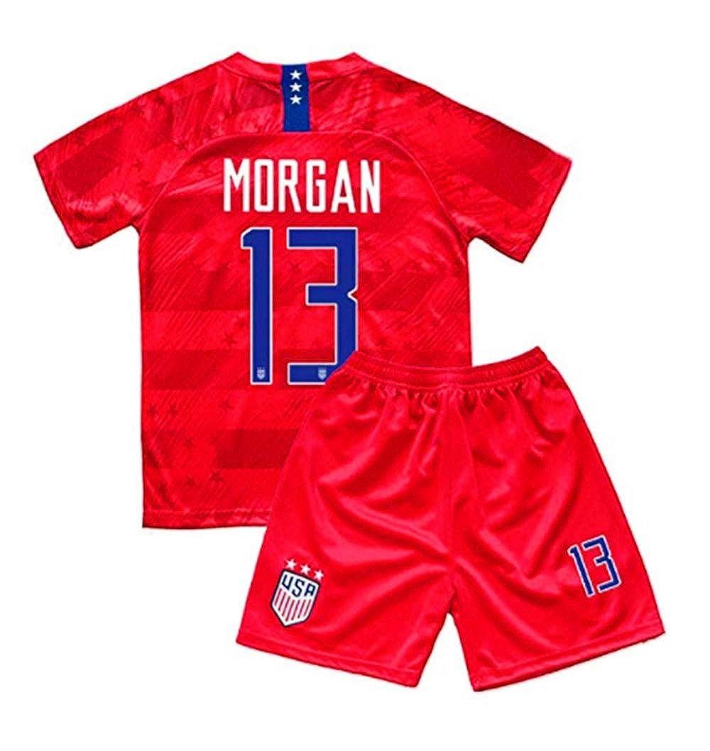online retailer 75ac4 260df Amazon.com: New 2019/2020 USA National Away #13 Alex Morgan ...