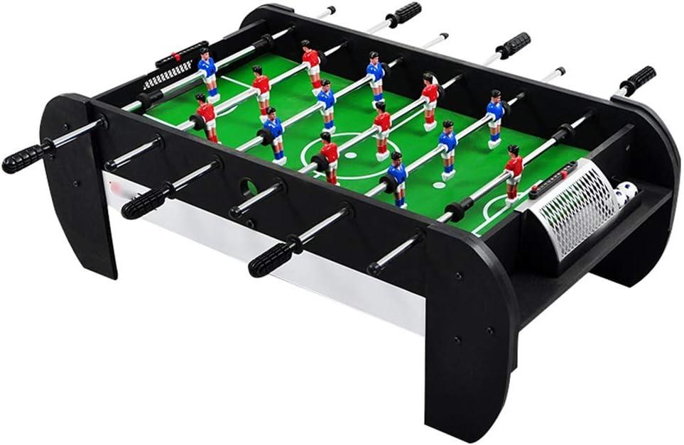 LiPengTaoShop Futbolín Mesa de fútbol Mesa de Juegos de Mesa de fútbol (Color : Black, Size : 97 * 54 * 35cm): Amazon.es: Hogar