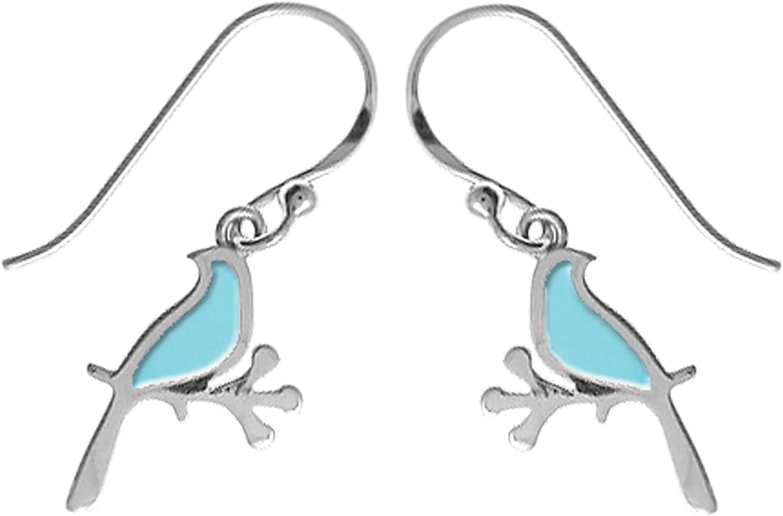 Boma Jewelry Sterling Silver Bird Earrings