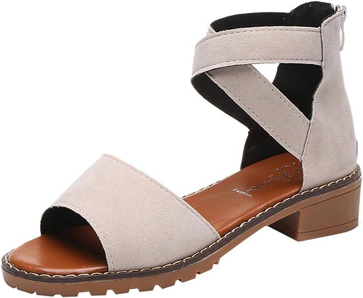 8d567e0dec5085 Coco-Z Plus Size 35-43 Rhinestone Gladiator Sandals Open Toe High Heel  Sandals