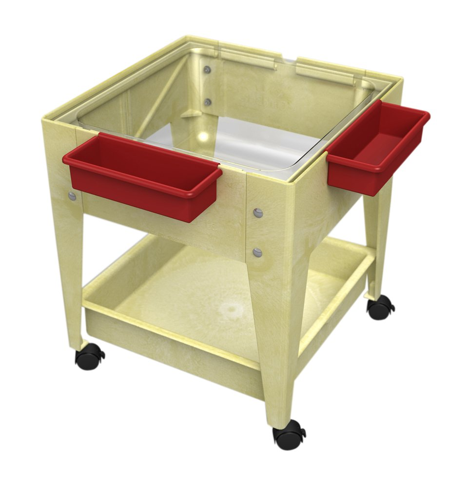 ChildBrite 24'' Sx Tra Deep Clear Tub and 4 Casters Sandal Frame Mobile Mite