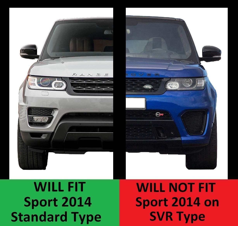 Sport 2014 Standard Type Red Lens Rear Bumper Reflector Lights for Range Sport 2014-2017 L494 Brake /& Rear Fog Lamps 1 Pc Right Side as Tail