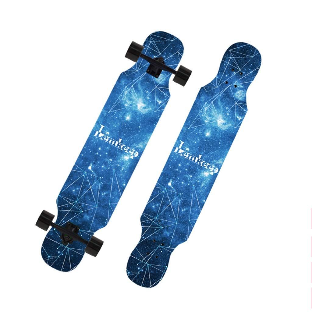高品質 DUWEN E スケートボード初心者スケートボードロングボード大人のダンスボード男の子と女の子のブラシストリートティーンプロの旅行四輪スクーター (色 DUWEN : E) B07NRT3NRL (色 E, 日本酒ギフトおつまみのミツワ酒販:a13202c7 --- a0267596.xsph.ru