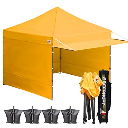 79be90188cc ABCCANOPY 10x10 Easy Pop up Canopy Tent Instant Shelter Commercial Portable  Market Canopy with Matching Sidewalls