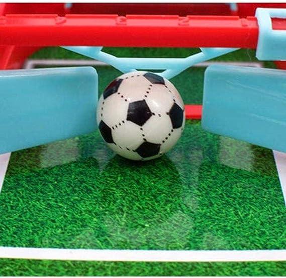 ZSLGOGO Mini Mesa De Futbolín Juegos De Mesa De Fútbol para Niños ...