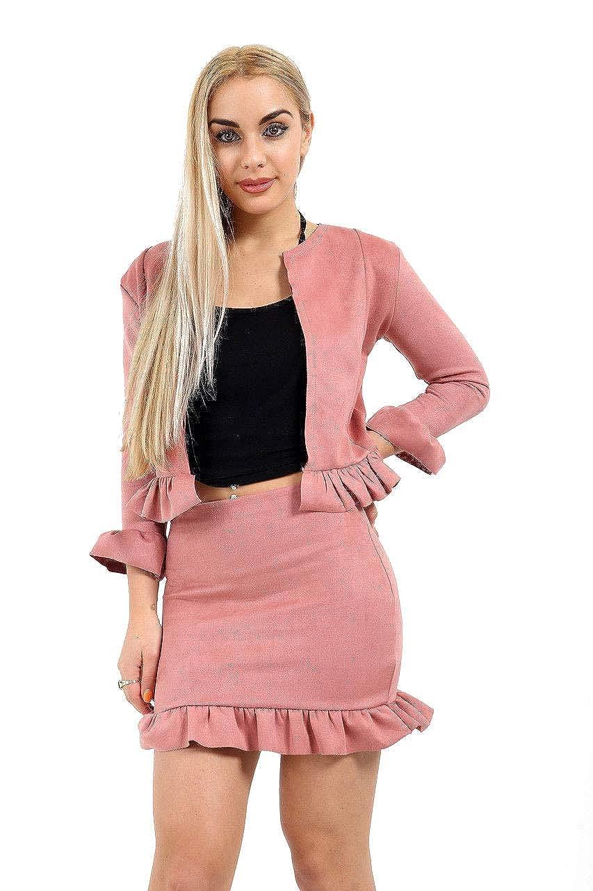 Fashion4you - Chaqueta de Traje - para Mujer