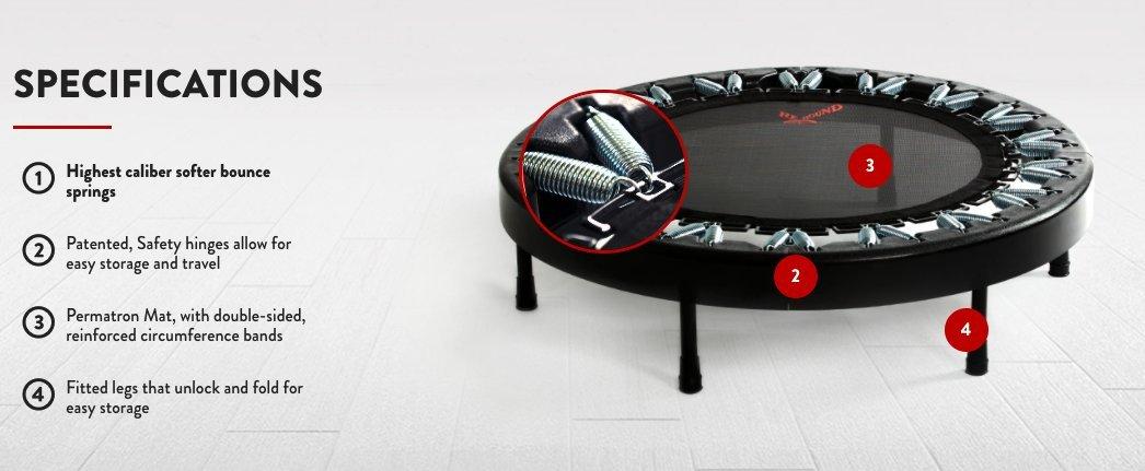 Rebounder, Ultimate ReboundAIR Quarter Fold
