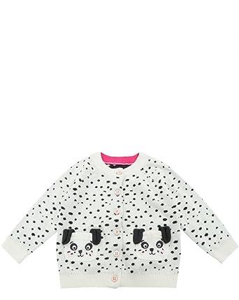 1071b44be604 Joules Dorrie Cream Spot Dog Pockets Infant Cardigan  Amazon.co.uk ...