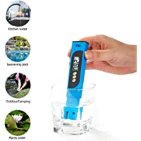 Digital TDS Meter Tester, Professional 3-in-1 Hydroponics TDS Water Test Pen High Accuracy for Water Quality Testing, 0-9990 ppm, Ideal Water Test Meter for Drinking Water, Aquariums - Blue