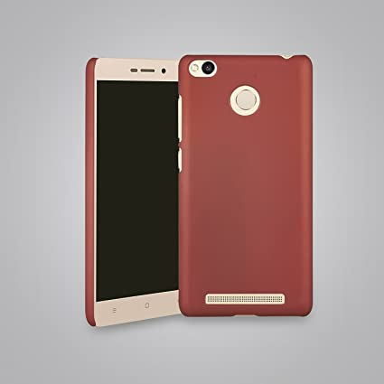 finest selection 65299 b6322 Parallel Universe Xiaomi Redmi 3s Prime Back Cover Case Premium Smooth  Rubberised Matte Finish Hard PC backcover - Maroon