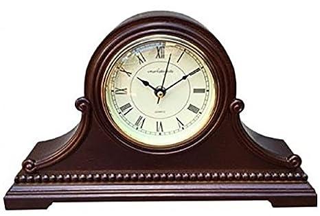 Relojes de mesa: Vmarketingsite, de madera con campanada de Westminster Este reloj de mesa decorativo de ...