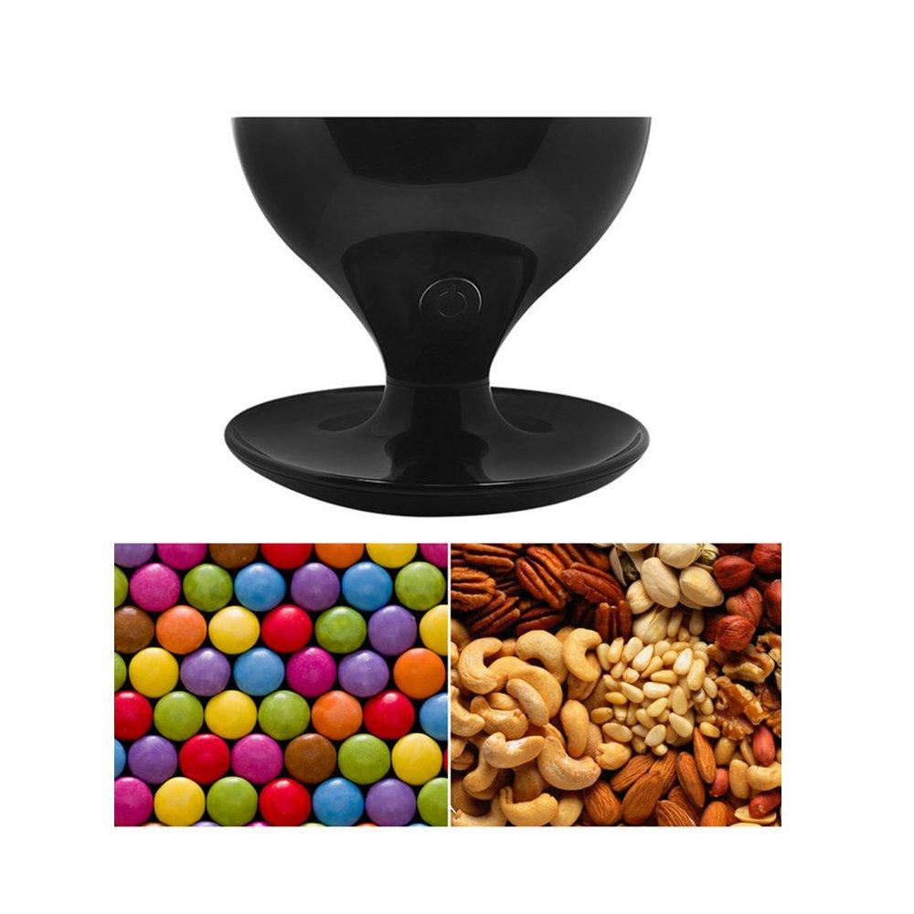 Candy dispensador, 51 Panda 0,7 l activado por movimiento (mundo alimentos y Candy de Gumball Máquina para tuercas, aperitivos Mix, cereales y alimentos ...