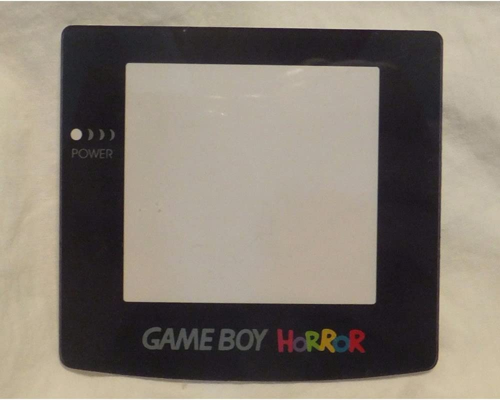Amazon Com Game Boy Color Horror Gbc Replacement Screen Protector Lens Software