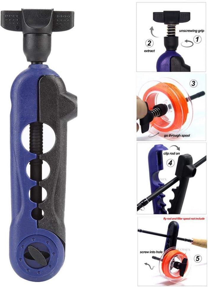 Portable Fishing Line Winder Reel Spooler Machine Spooling Station System Gear