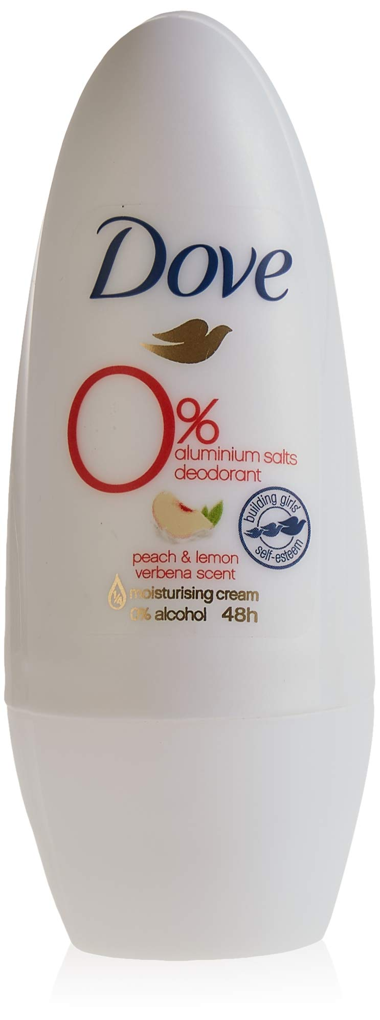 Dove Desodorante 0% Melocotón Roll On - 50 ml